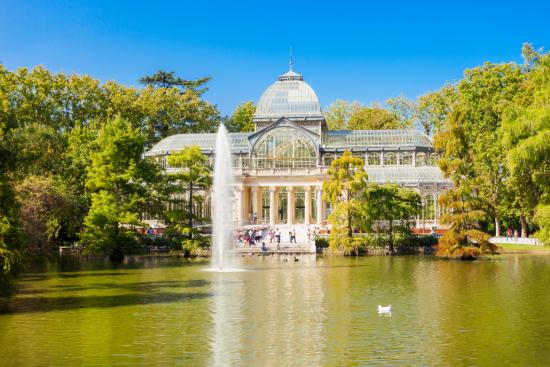 Crystal Palace sur le Parc du Retiro à Madrid