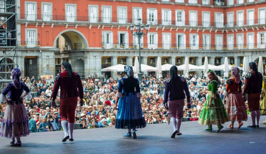 Fiestas de San Isidro à Madrid