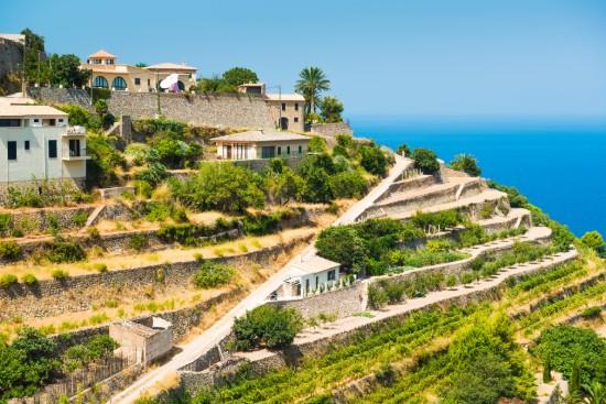 Le village de Banyalbufar à Majorque
