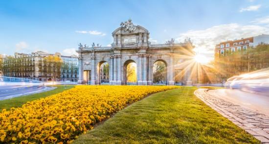 La Puerta de Alcala à Madrid