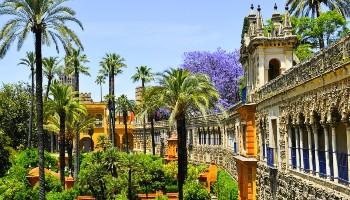 Jardins de l'Alcazar à Séville
