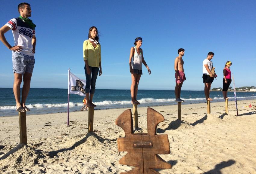 Olympiades sur la plage en séminaire