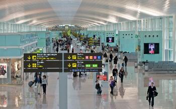 Arrivée à Barcelone via l'aéroport d'El Prat