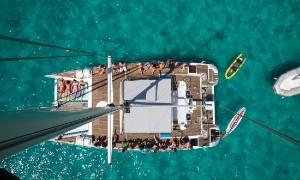 Balade en catamaran à Majorque