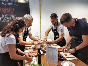 L'atelier cuisine est un teambuilding idéal pour votre événement