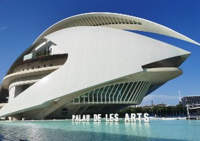 Le Palais des Arts pour dîner ou voir un spectacle à Valence