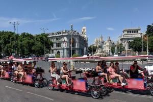 Se déplacer à Madrid en rosalie lors de votre événement