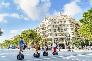 Parcourir Barcelone en segway durant votre événement